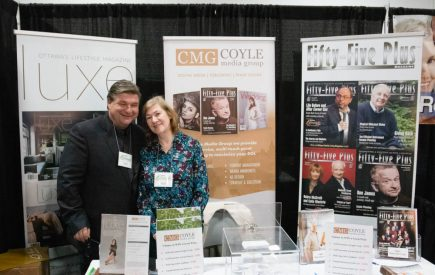 The Coyle Media Group booth.