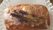 Lavender tea cake